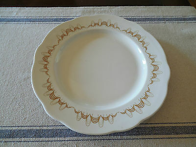 Buffalo China Gold Atomic Dinner Plate