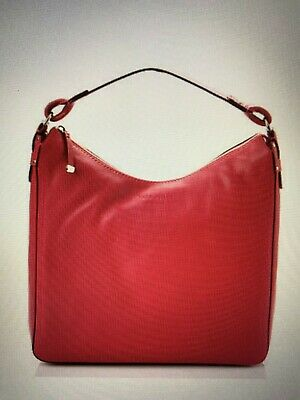 NWT marc jacobs wellington small fulton goat leather crossbody red handbag italy