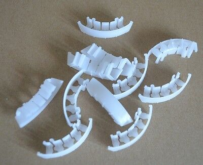 200 PC PVC Arch Plants Supports Prevent Tomato Truss Stem Kinking Tool