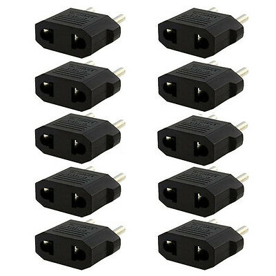 Hot SALE 3* US AU to European EU Travel Charger Adapter Plug Outlet Converter