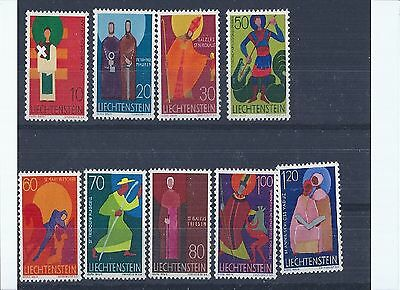 Stamps commemorate Churchs Patrons,1967/1968 years issue