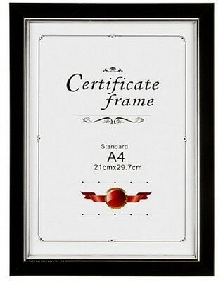Thin Picture Frame Photo Frame A4(297x210)mm Wood Effect in Pack Size 1/3/6/9/12