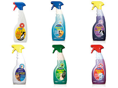 Johnsons range of Clean 'n' Safe Disinfectant 500ml cat, dog, bird, small animal