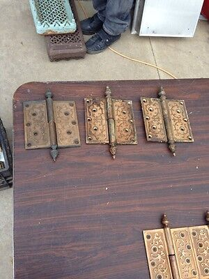 Ms 12 Three Matching Sets Hinges Bronze 5.5 X 5.5""