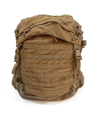 USMC Marine Corps Issue Excellent Replacement FILBE Coyote Ruck Sack Main Pack