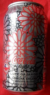 Chile 2013 Coca Ligth Can Limited Edition Lupe Gajardo