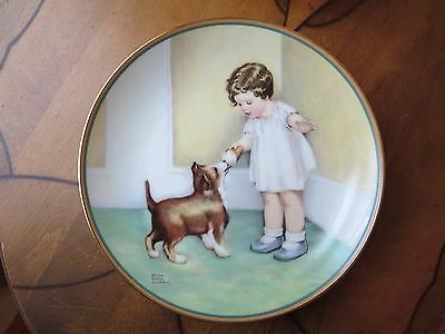 The Reward, A Collectors Plate by Bessie Pease Gutmann