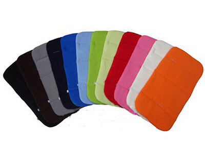 Baby Pushchair Stroller Pram Buggy Fleece Liner Padding Pad Cover Cushion  Mat