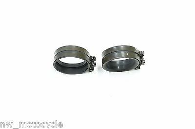 Kawasaki Zx9R Zx-9R Zx900 Zx 900 Zx9 Ram Air Intake Tube Rubber Clamps Clamp K9
