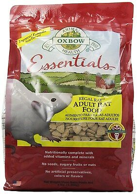 Oxbow Regal Rat Food, 3-Pound Bag by Oxbow Animal Health model number: 448121