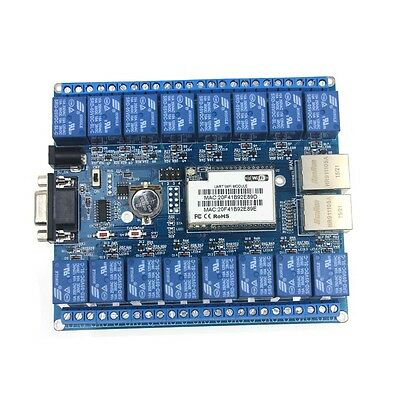 Hi-Link HLK-SW16 16 Channel Android/Smart Phone CWiFi Relay /WiFi Relay Module