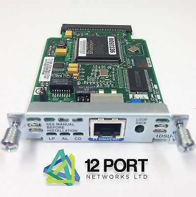Cisco WIC-1DSU-T1V2  CARD