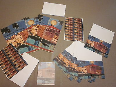CATALINA ISLAND TILES STATIONARY 95 ITEMS CASINO STICKERS CARDS LETTER HEAD