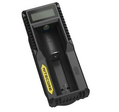 Nitecore UM10 USB Smart Digi Charger w/ LCD Screen For Li Ion / IMR Batteries