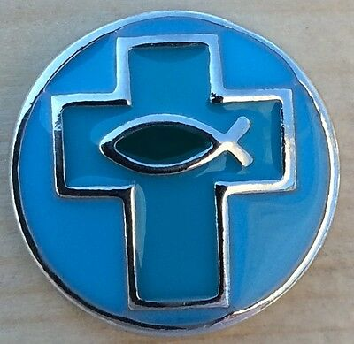 Fashion Charms & Charm Bracelets @Snap Chunk Button Bronze Cross Blue Stone Charm For Ginger Snap Style Jewelry