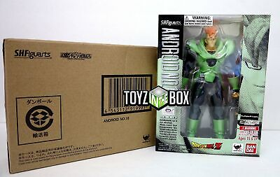 """In STOCK Bandai Tamashii S.H.Figuarts """"Android 16"""" Dragon Ball Z Action Figure"""