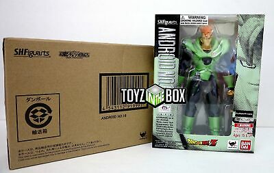 "In STOCK Bandai Tamashii S.H.Figuarts ""Android 16"" Dragon Ball Z Action Figure"