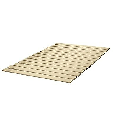 Classic Brands Wooden Bed Slats/Bunkie Board Solid Wood, Any Mattress Type, T...
