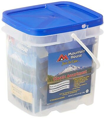 Mountain House Just In Case...Classic Assortment Bucket [80635] BRAND NEW