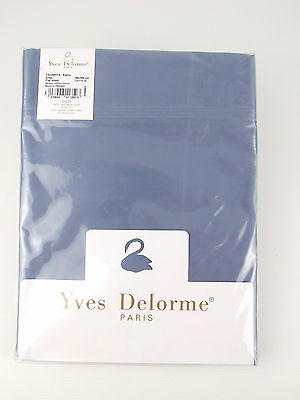 Yves Delorme - Triomphe Baltic Flat Sheet Egyptian Cotton 300Tc Over 50% Off Rrp