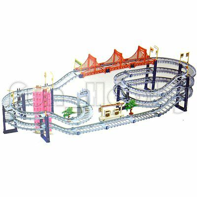 2 In 1 Electrical Extreme Challenge Speed Game Multi Levels City Track Car Toy