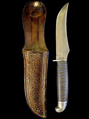 Vintage Western F39 Black Beauty Hunting Knife -Antique/Old Collection