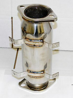"""Stainless Steel 3"""" Turbo CAT/TEST Pipe for 89-94 S13 1995-1998 S14  240SX"""