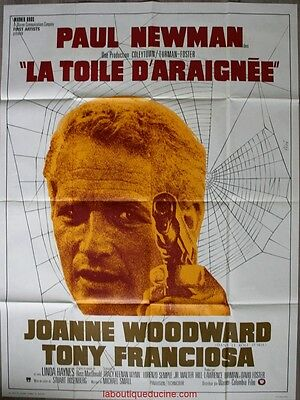 LA TOILE D'ARAIGNEE The Drowning pool Affiche Cinéma / Movie Poster PAUL NEWMAN