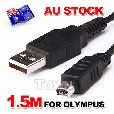 For Olympus Camera Charger Data USB Cable Digital CB-USB5 CB-USB6 CB-USB8 12Pin