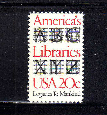 ESTADOS UNIDOS/USA 1982 MNH SC.2015 America´s Libraries