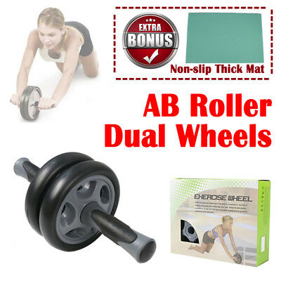 0.5KG Execise AB Abdominal Wheel Roller Workout Body Gym Home Fitness