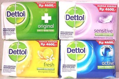 12 x 105gm Dettol Anti-Bacterial Soap (Pack of 12) FREE SHIPPING