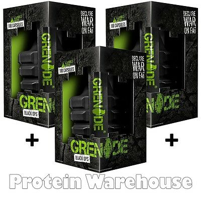 Grenade Black Ops Weight Loss Fat Burner Slimming All Sizes