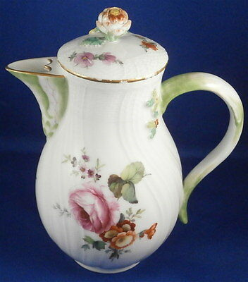 Great 18thC KPM Berlin Porcelain Small Coffee Pot Porzellan Kanne Tea Kaffee