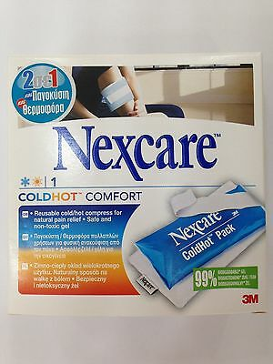 Nexcare Cold&Hot Comfort Pack  NATURAL PAIN RELIEF ~ 2 IN 1. FREE SHIPPING!!!