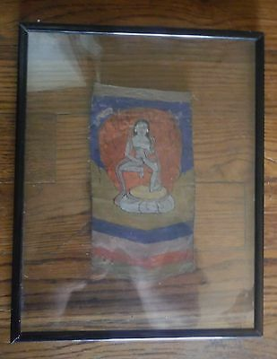 Small Cloud Fairy Thangka