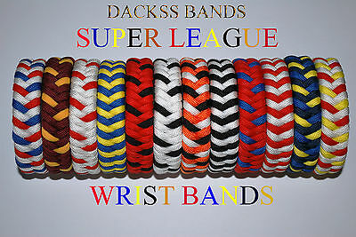 Rugby Super League Teams Hand Made 550 Paracord WristBand Bracelet UK and France