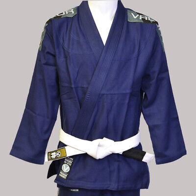 Valor Bravura BJJ GI Navy | FREE White Belt | FREE Delivery