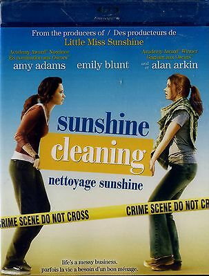 BRAND NEW BLU-RAY //  Sunshine Cleaning //  Amy Adams, Alan Arkin, Emily Blunt