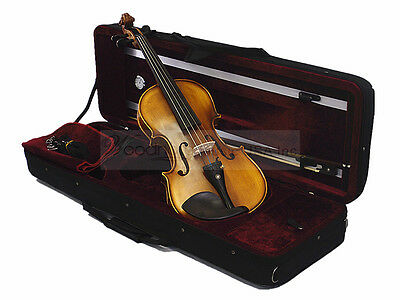 New 4/4 Antique/Flamed Violin with 350RD Case/Bow/Rosin/Free String Set