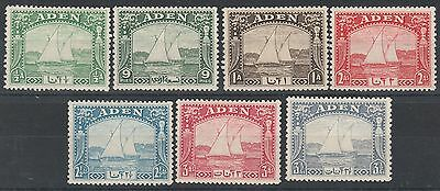 Aden 1937 Dhow 1/2A To 31/2A