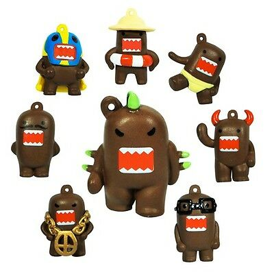 Domo Kun Mini Figures Set of 8 (Brown Version 1 inch figures)