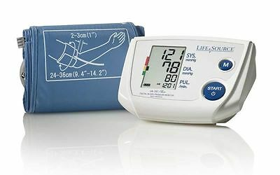 LifeSource UA-767PVA  One-Step Auto-Inflation Blood Pressure Monitor