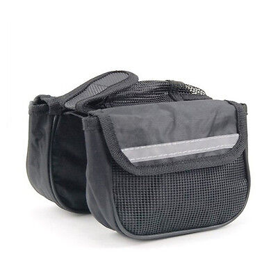 Bicycle Frame Pannier Front Tube Bag Suitable for Road Bike and Mountain Bike ED