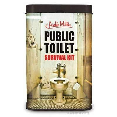Public Toilet Survival Kit Novelty Gift Joke Hens Party Unique Funny