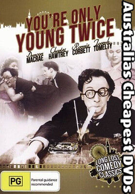 You're Only Young Twice DVD NEW, FREE POSTAGE IN AUSTRALIA REGION 4