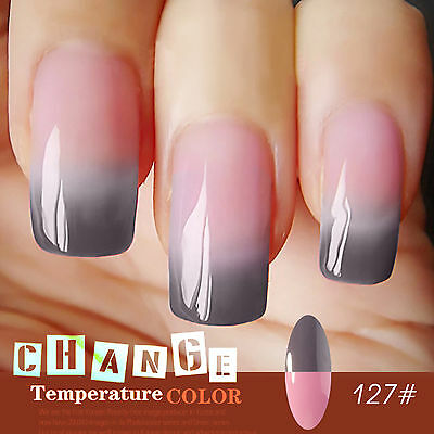 Perfect summer Soak Off Temperature Change Color Gel Nail Polish UV Led lamp Gel