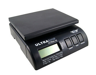 ULTRASHIP 34kg DIGITAL PARCEL POSTAL WEIGHTING SCALES SHIPPING + free Adapter
