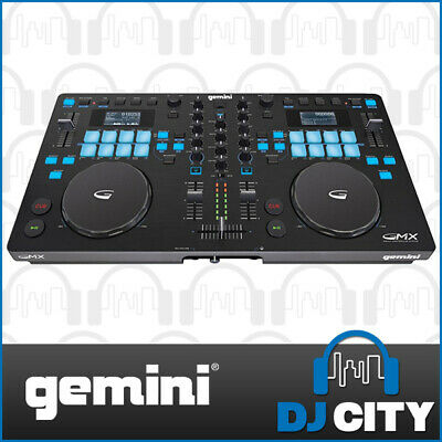 Multi Format 2 Channel DJ USB/MIDI Controller with Pads and 1 Year Warranty