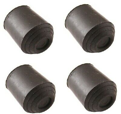Walking Stick Ferrule 16mm Rubber Heavy Cane Crutch Pad Bottom Protector End Tip